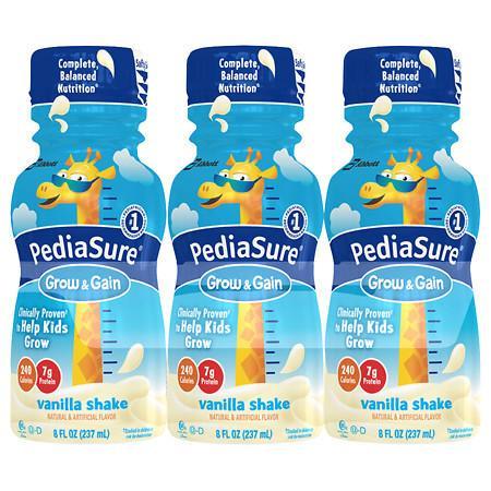 PediaSure Complete, Balanced Nutrition Shake Vanilla - 6 ea