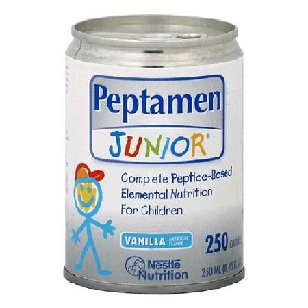 Peptamen Junior Complete Peptide-Based Elemental Nutrition Vanilla - 8.45 oz.