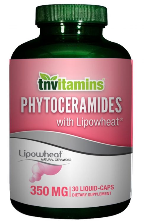 Phytoceramides with Lipowheat 350 Mg