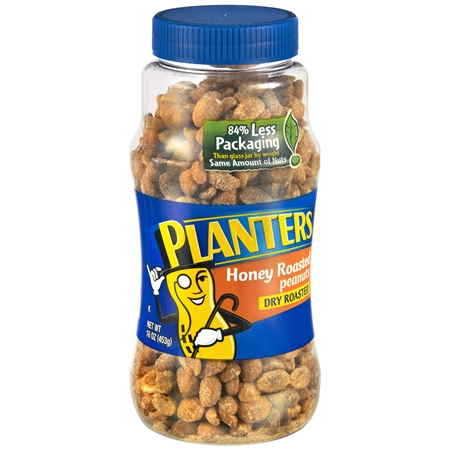 Planters Peanuts Honey Roasted - 16 oz.