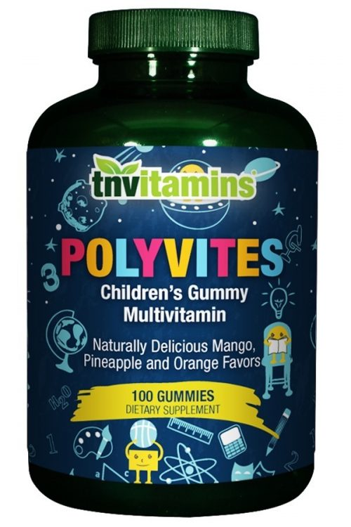 Polyvites Complete Children's Chewable Gummy Multivitamins