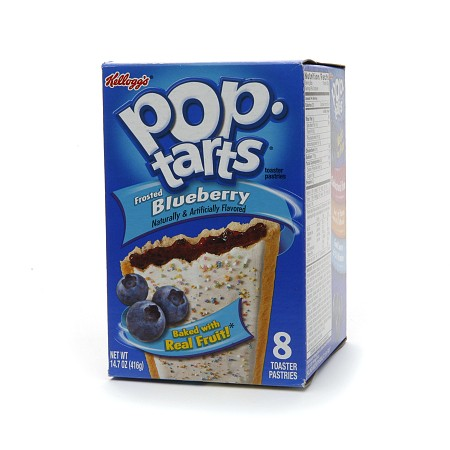 Pop Tarts Toaster Pastries Frosted Blueberry - 8 ea