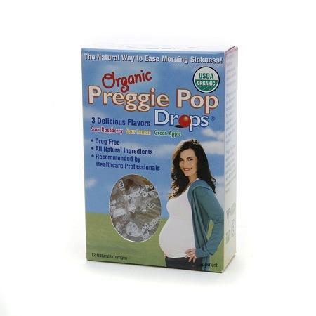 Preggie Pops Organic Morning Sickness Drops - 12 ea