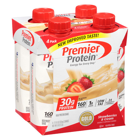 Premier Protein Shakes Strawberries & Cream - 11 oz.