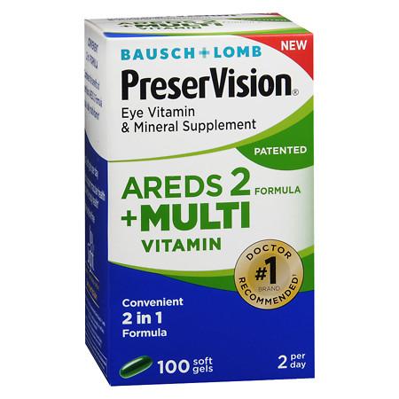 PreserVision Areds 2 Multi-Vitamins - 100 ea