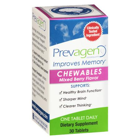 Prevagen Regular Strength Mixed Berry Chewables Mixed Berry - 30 ea