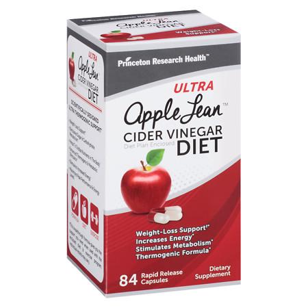 Princeton Research Ultra Apple Lean Cider Vinegar Diet - 84 ea