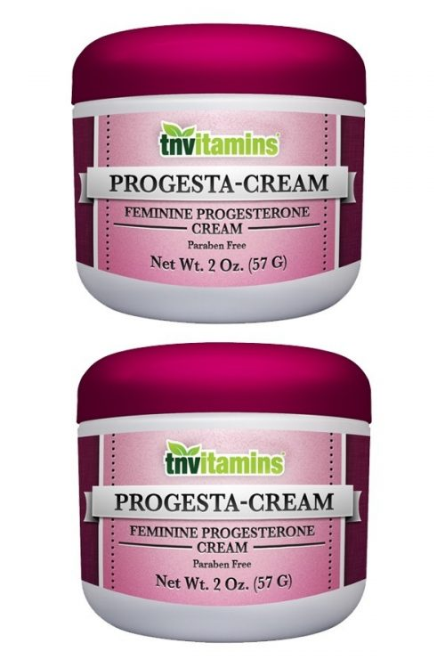 Progesta-Cream Natural Progesterone Cream W/ Wild Yam