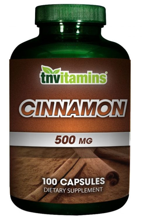 Pure Cinnamon Capsules 500 Mg