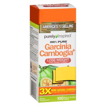 Purely Inspired Garcinia Cambogia+, Tablets - 100 ea