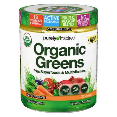 Purely Inspired Pure Greens Superfoods - 7.17 oz.