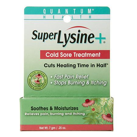 Quantum Health Super Lysine+ Cold Sore Treatment - 0.25 oz.