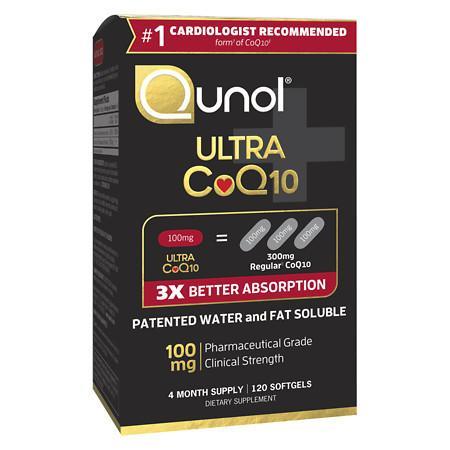 Qunol Ultra CoQ10 100 mg Dietary Supplement Softgels - 120 ea