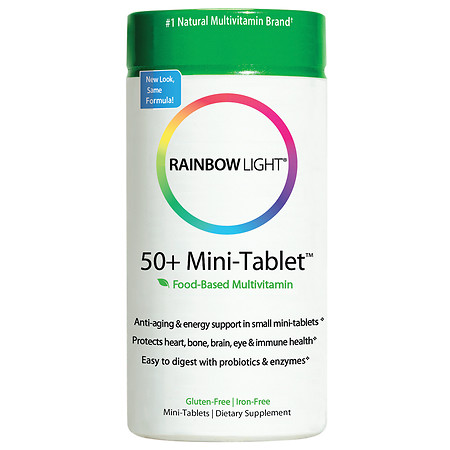 Rainbow Light 50+ Multivitamin Age-Defense, Tablets - 180 ea