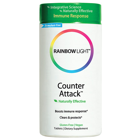 Rainbow Light Herbal Prescriptives Counter Attack, Tablets - 90 ea