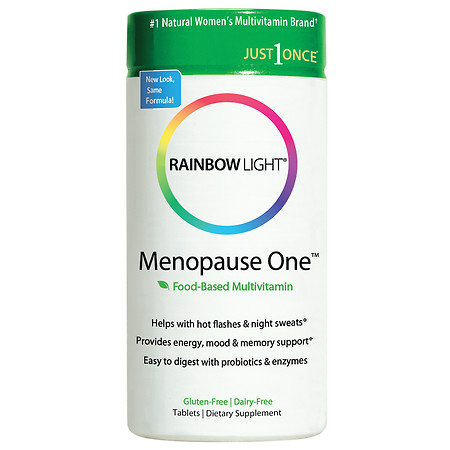 Rainbow Light Just Once Menopause One MultivitaminMineral Dietary Supplement Tablets - 30 ea
