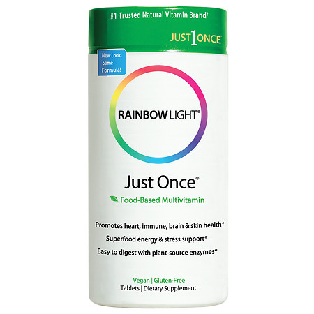 Rainbow Light Just Once, Tablets - 30 ea