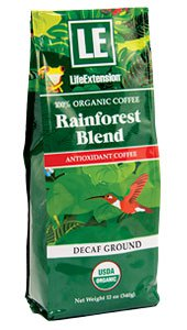 Rainforest Blend Decaf Ground Coffee, 12 oz (340 g)