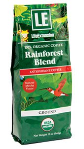Rainforest Blend Ground Coffee Natural Mocha Flavor, 12 oz (340 g)