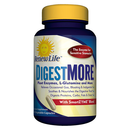 ReNew Life Digest More Vegetable Capsules - 135 ea