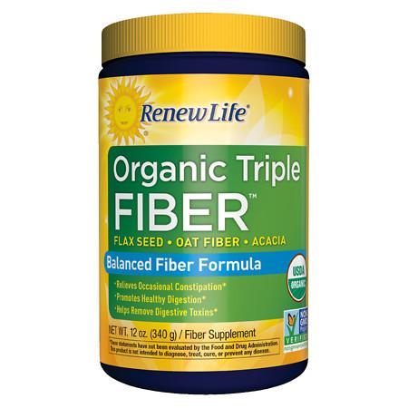 ReNew Life Organic Triple Fiber - 12 oz.