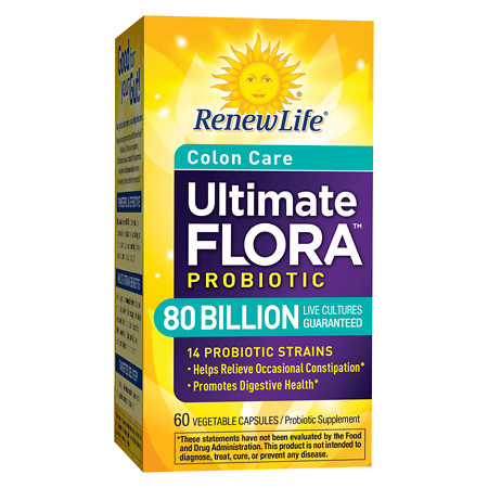 ReNew Life Ultimate Flora Critical Colon, Veggie Caps - 60 ea