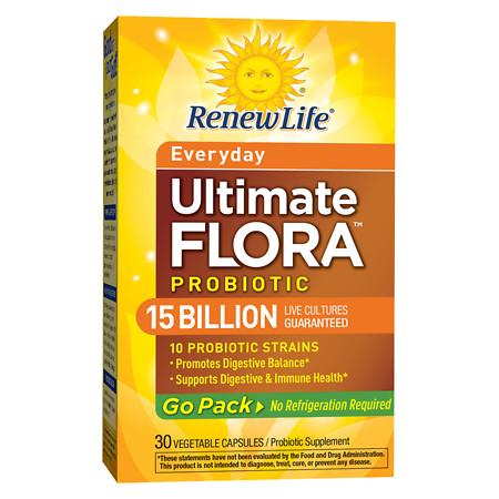ReNew Life Ultimate Flora RTS Daily Probiotic, Veggie Capsules - 30 ea
