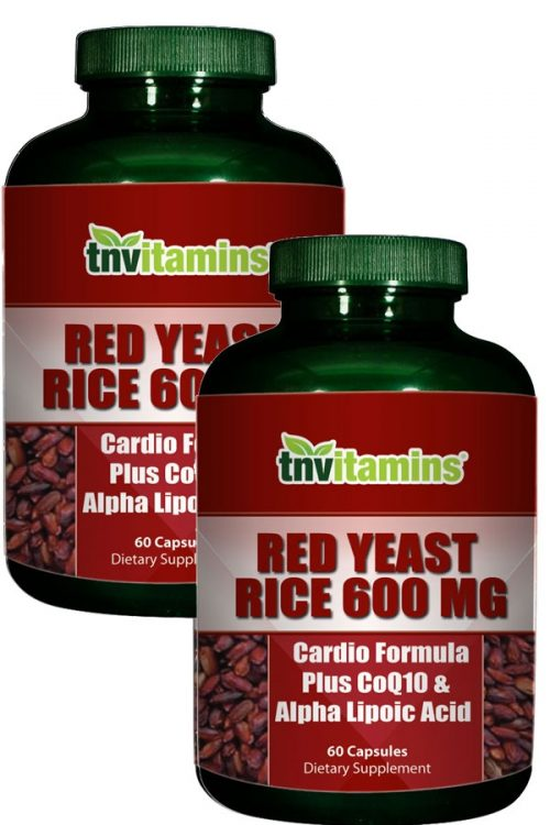 Red Yeast Rice Plus Alpha Lipoic Acid & Co Q-10