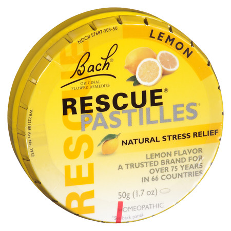 Rescue Pastilles Lozenges Lemon - 1.76 oz.
