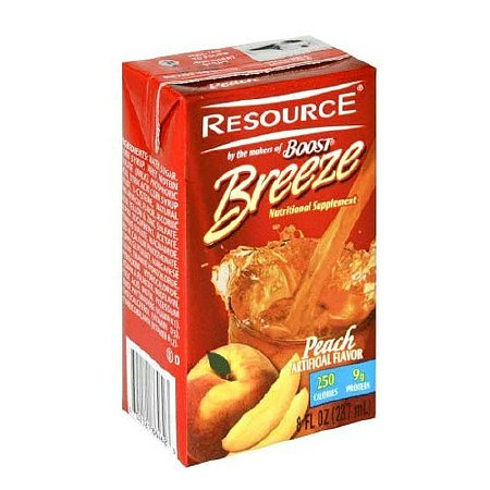 Resource Breeze Fruit Flavored Clear Nutritional Drink - 8 oz.