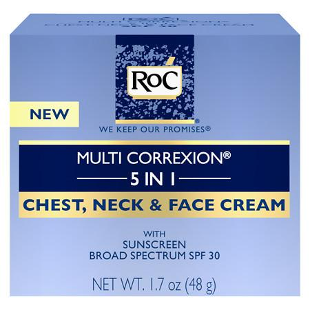 RoC Multi Correxion 5 In 1 Chest, Neck & Face Cream - 1.7 oz.