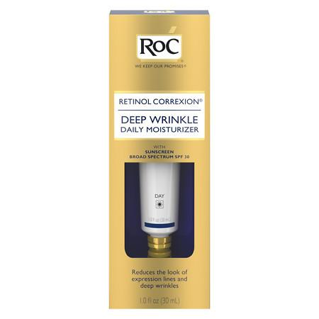 RoC Retinol Correxion Daily Moisturizer With Sunscreen SPF 30 - 1 fl oz