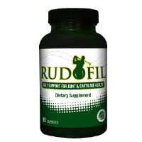 Rudofil Glucosamine & Turmeric Supplement for Joint Health - Free 30-Day Sample (Just pay $9.95 s&h)