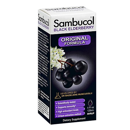 Sambucol Black Elderberry Immune System Support; Original Formula - 4 fl oz