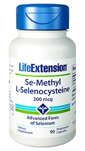 Se-Methyl L-Selenocysteine, 200 mcg, 90 vegetarian capsules