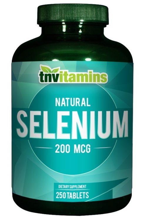 Selenium 200 Mcg Tablets