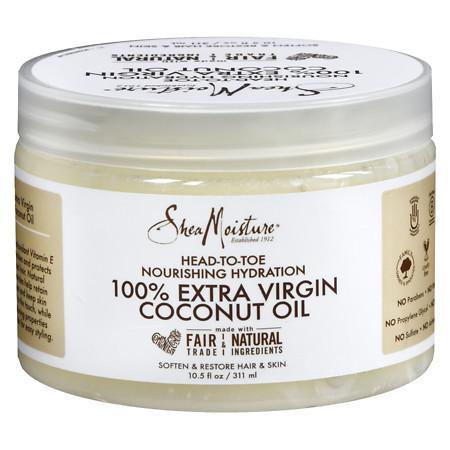 SheaMoisture 100% Coconut Oil - 10 oz.