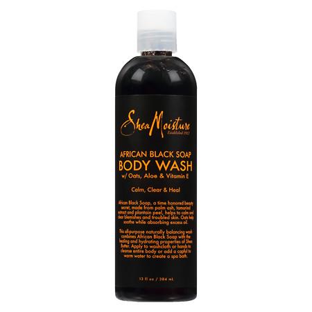 SheaMoisture African Black Soap Body Wash - 13 oz.
