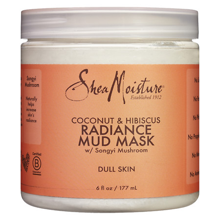 SheaMoisture Coconut Hibiscus Mud Mask - 6 oz.