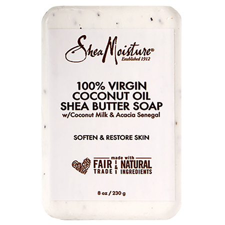SheaMoisture Coconut Oil Bar Soap - 8 OZ