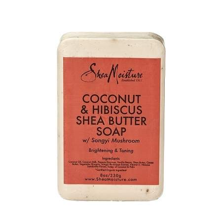SheaMoisture Coconut & Hibiscus Shea Butter Soap - 8 oz.