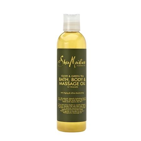 SheaMoisture Olive & Green Tea Bath, Body & Massage Oil - 8 oz.