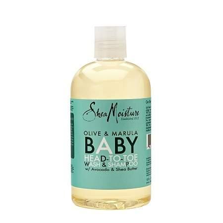 SheaMoisture Olive & Marula Baby Head-To-Toe Wash & Shampoo - 13 oz.