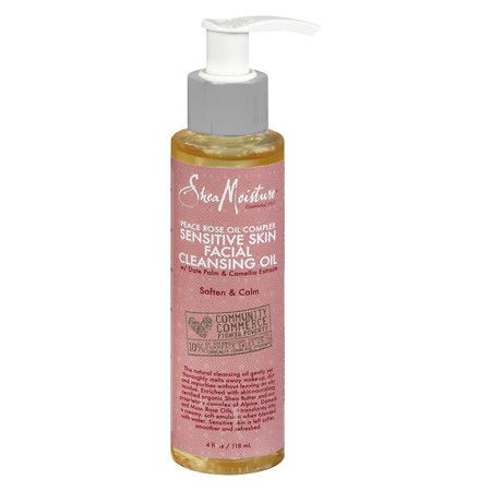 SheaMoisture Peace Rose Cleansing Oil - 4 oz.