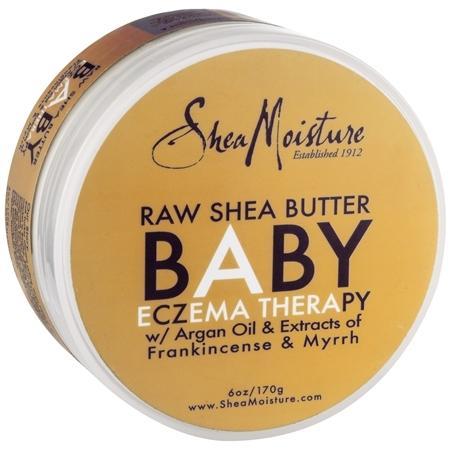 SheaMoisture Raw Shea Butter Baby, Skin Therapy Frankincense & Myrrh - 6 OZ