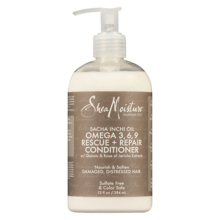 SheaMoisture Sacha Inchi Rescue & Rebuild Conditioner - 13 oz.