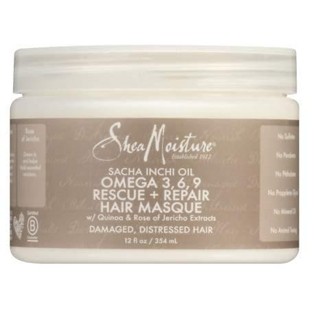 SheaMoisture Sacha Inchi Rescue & Rebuild Hair Masque - 12 oz.