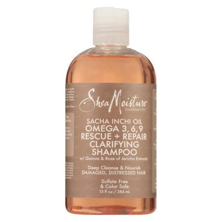 SheaMoisture Sacha Inchi Rescue & Rebuild Shampoo - 13 oz.