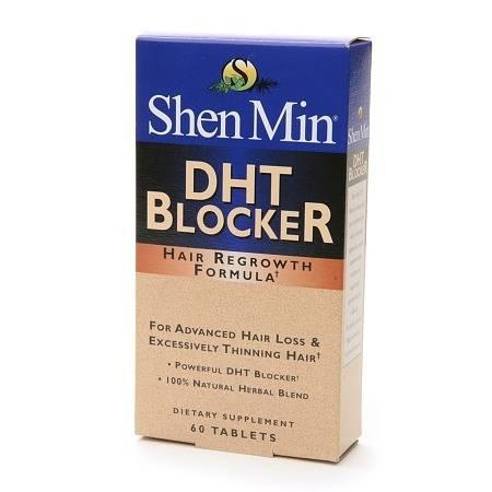 Shen Min DHT Blocker Hair Regrowth Formula Tablets - 60 tablets
