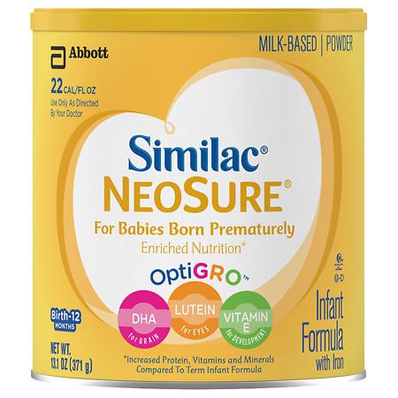 Similac Expert Care NeoSure, Infant Formula with Iron, Powder - 13.1 oz.